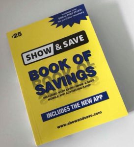 Show and Save yellow book