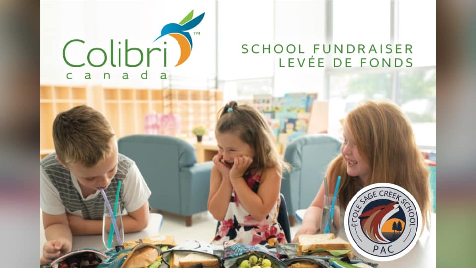 Colibri Fundraiser (re-usable lunch items) October 7-19